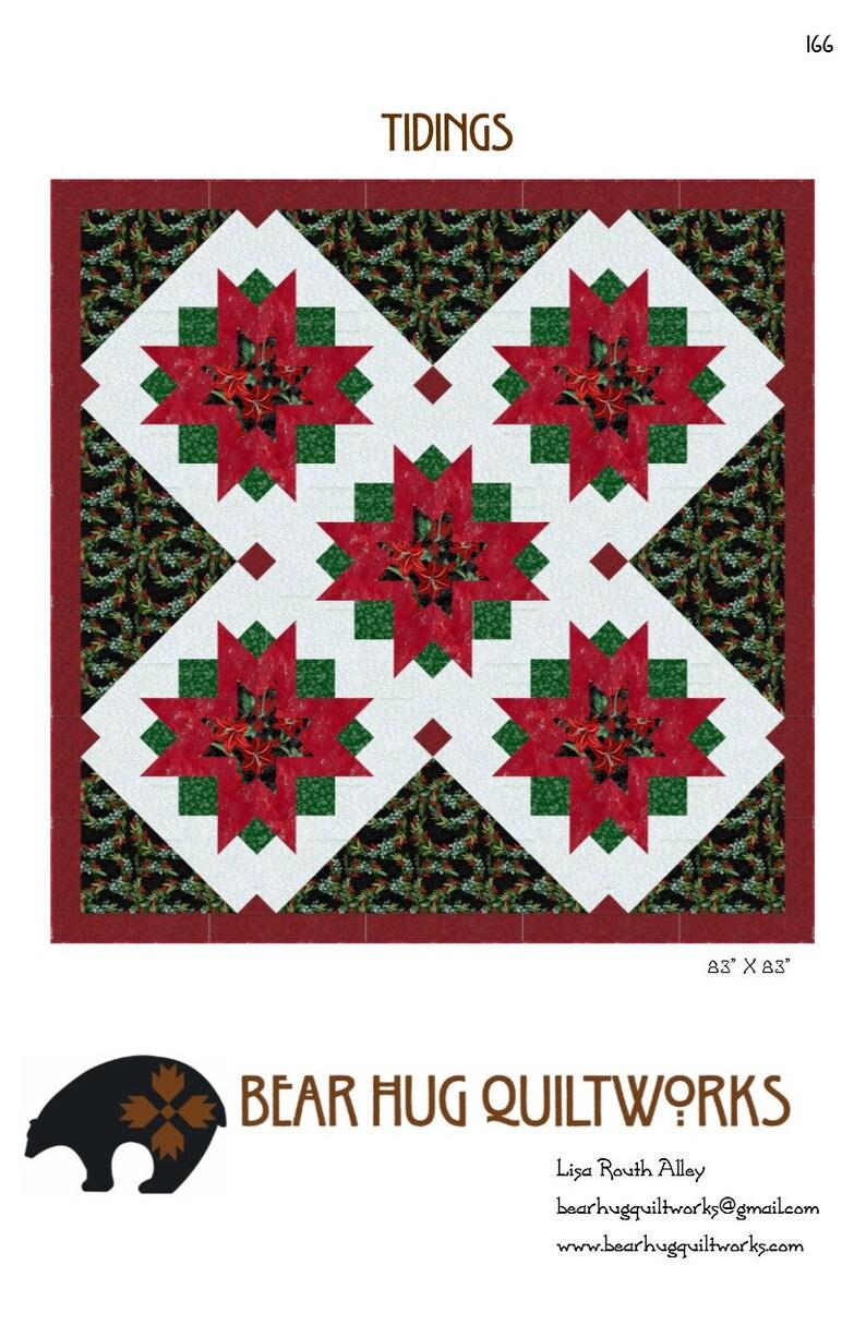 Tidings Quilt Pattern image 0