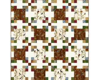 Square Pegs Quilt Pattern