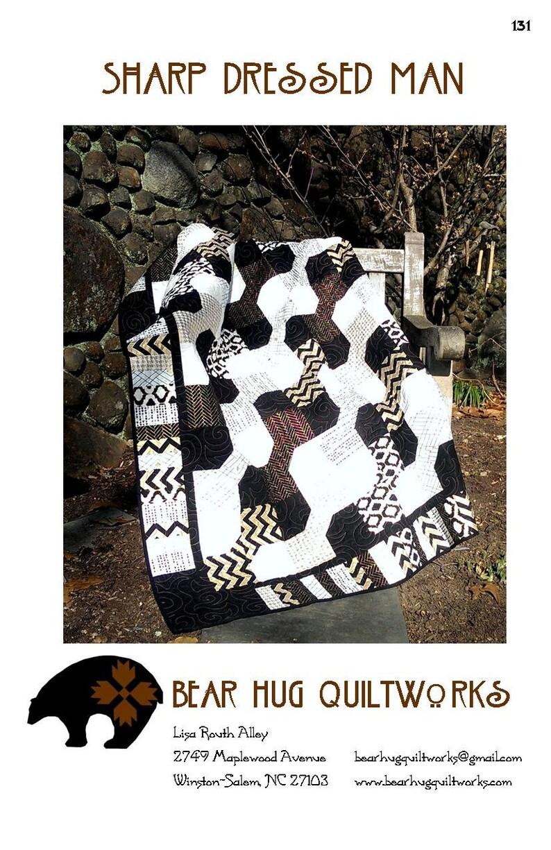 Sharp Dressed Man Quilt Pattern image 0