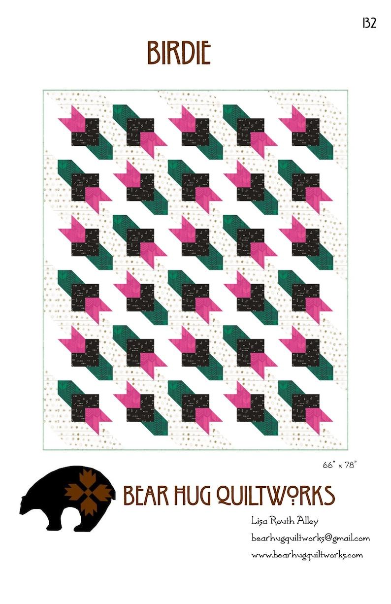 Birdie Quilt Pattern image 0