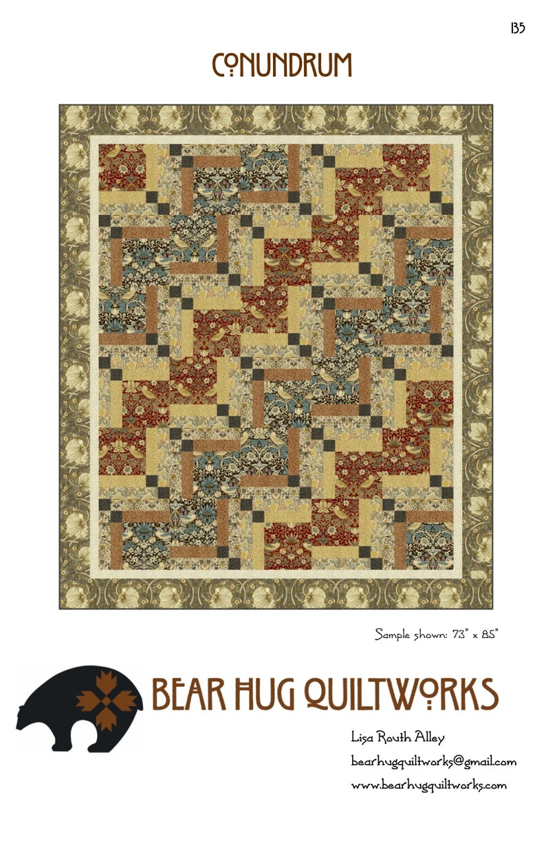 Conundrum Quilt Pattern image 0