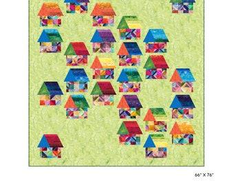 Burbs Quilt Pattern