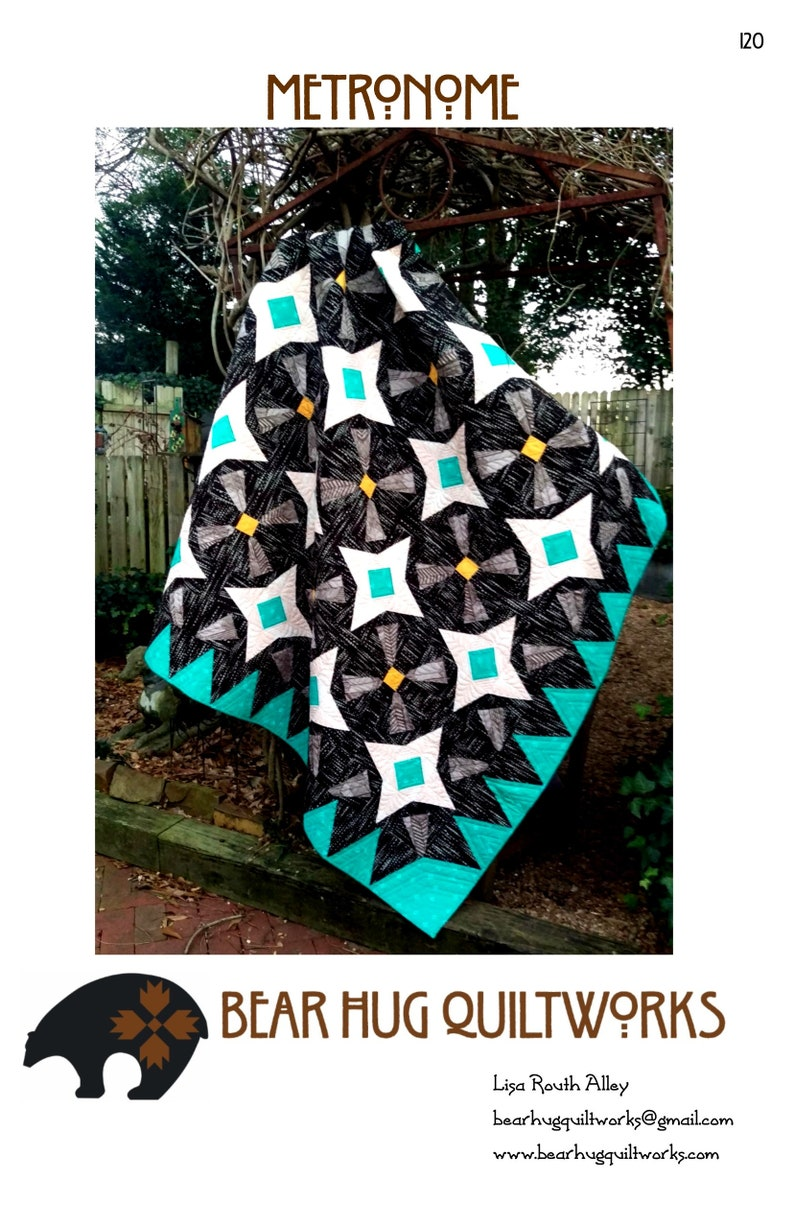 Metronome Quilt Pattern image 0
