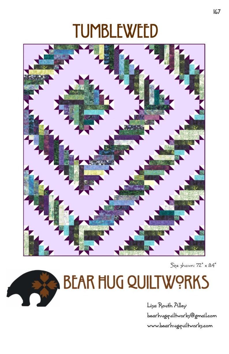 Tumbleweed Quilt Pattern image 0