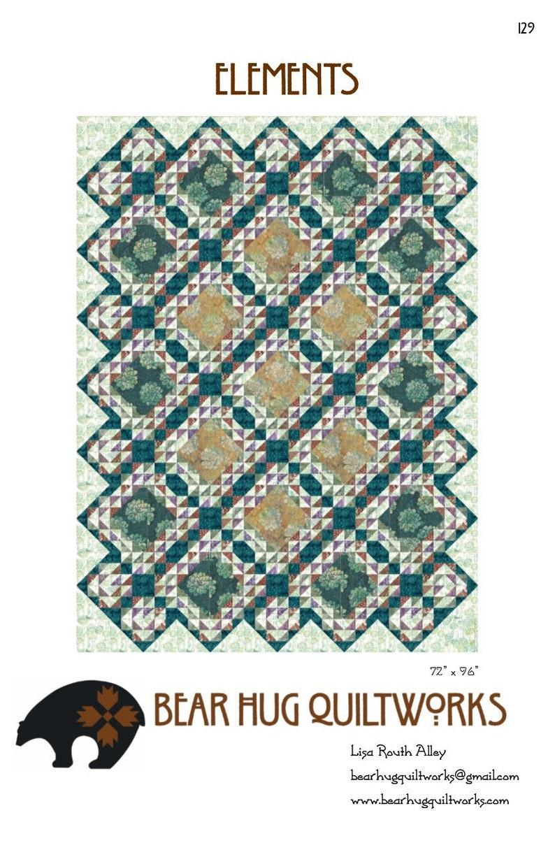 Elements Quilt Pattern image 0