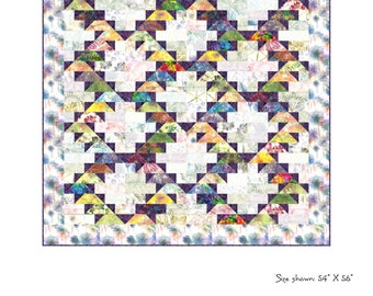 Falling Water Quilt Pattern