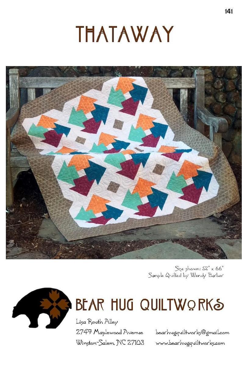 Thataway Quilt Pattern image 0
