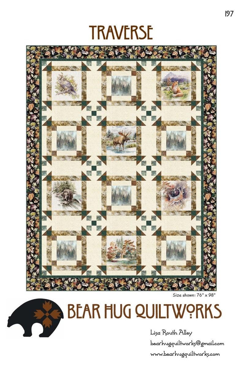Traverse Quilt Pattern image 1