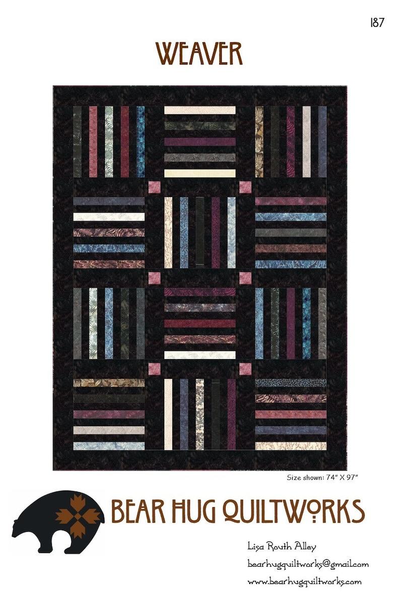 Weaver Quilt Pattern image 0
