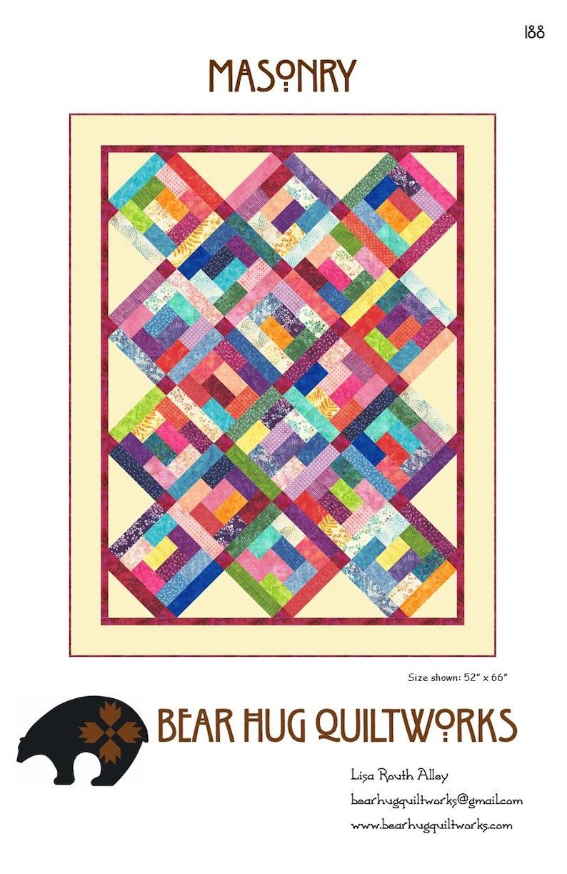 Masonry Quilt Pattern image 0