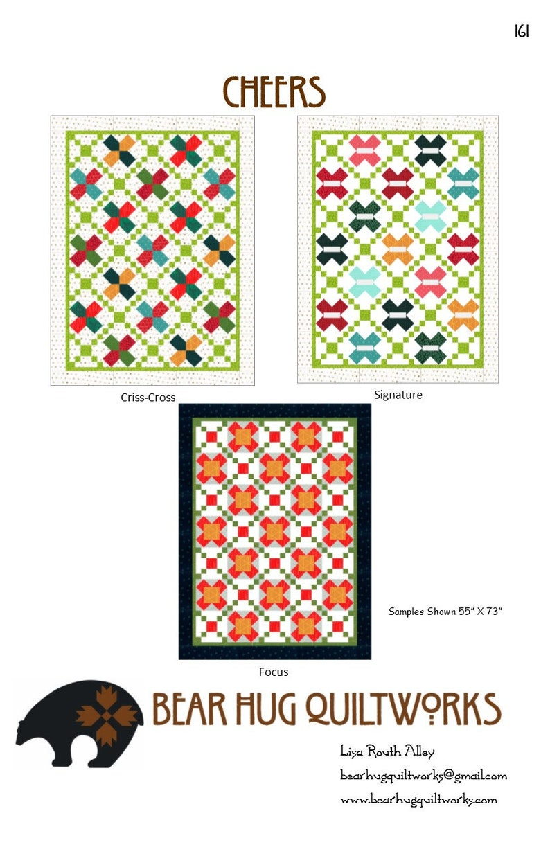 Cheers Quilt Pattern image 0