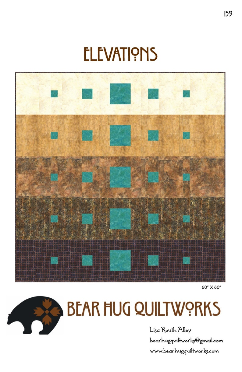 Elevations Quilt Pattern image 0