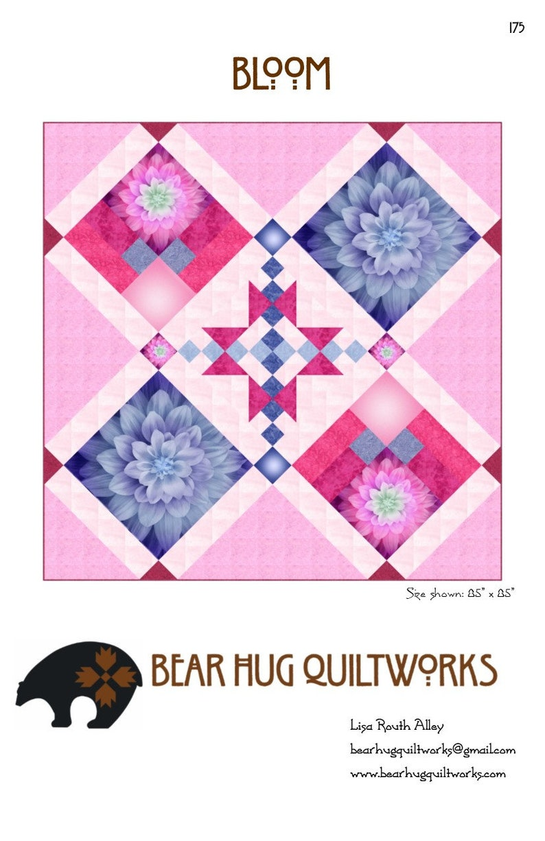 Bloom Quilt Pattern image 0