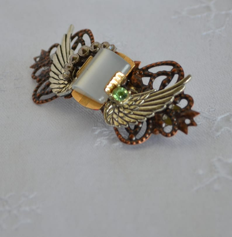 Decorated barrette from Brinemere