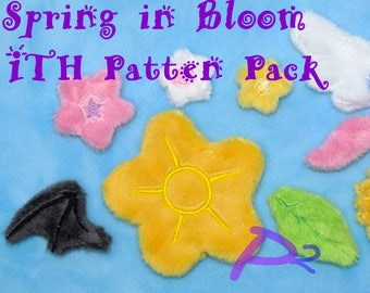 Spring in Bloom -ITH Pattern Pack-