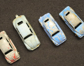 Toy VW Cars, 4 Cars