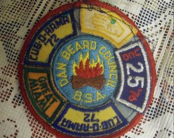 Boy Scouts Great Dan Beard District Council  Skill Tree 74 merit patch