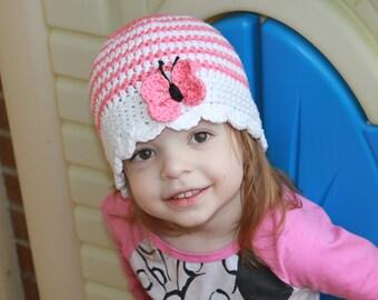 Häkeln Sie Baby Sonnenhut Häkelmütze Für Baby Mädchen Etsy