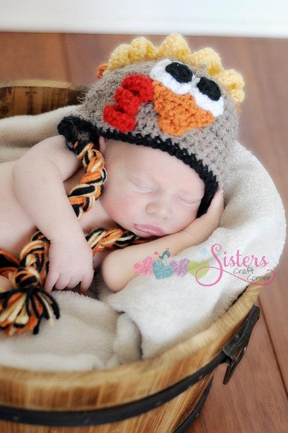 Babymütze Türkei Neugeborene Türkei Hut Häkeln Kinder Etsy