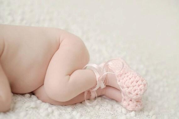 Häkeln Sie Neugeborenen Ballett Pantoffeln Neugeborene | Etsy