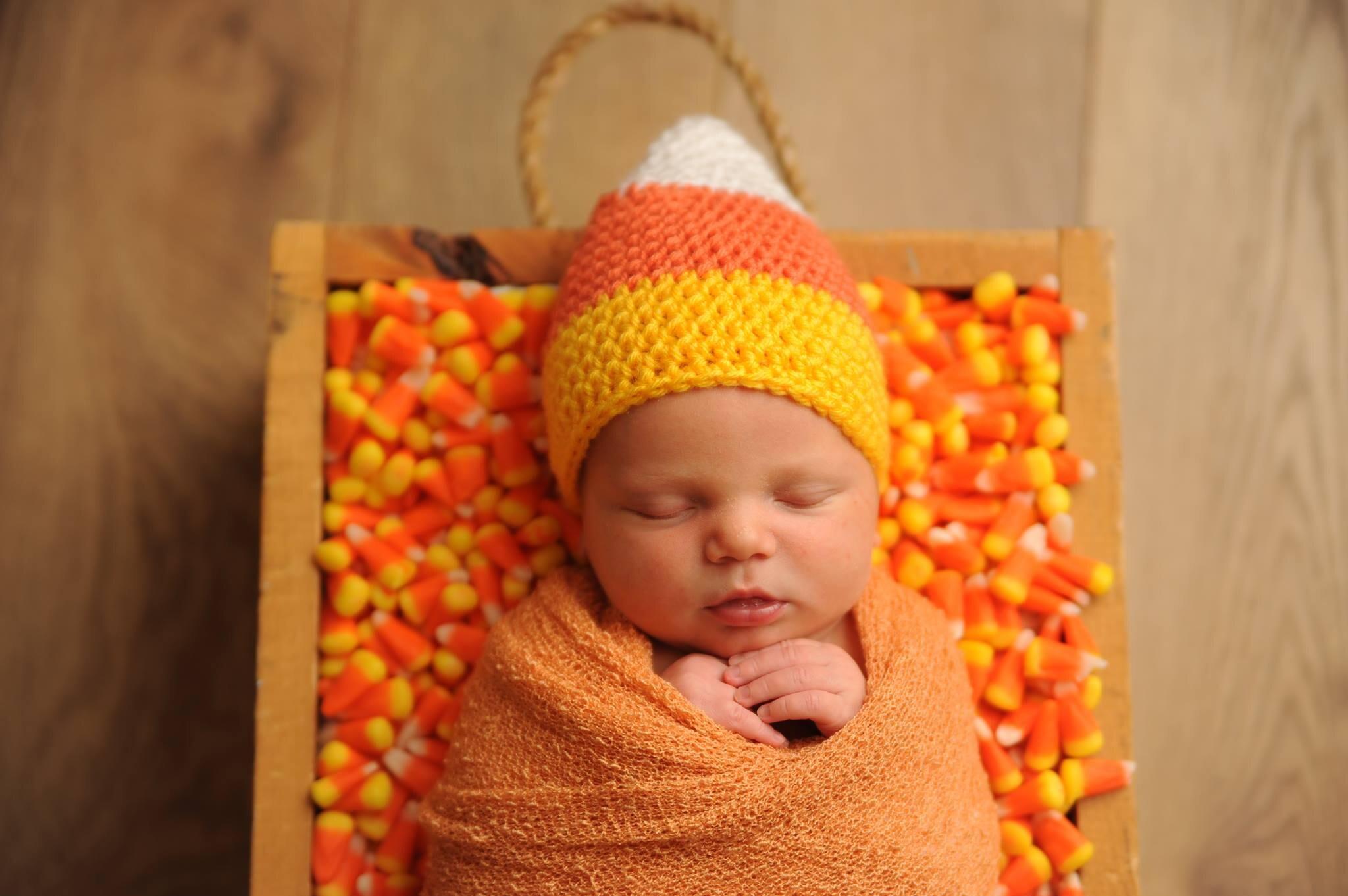 Baby Candy Corn Hat Newborn Crochet Hat Candy Corn Costume  f85986c9bd2