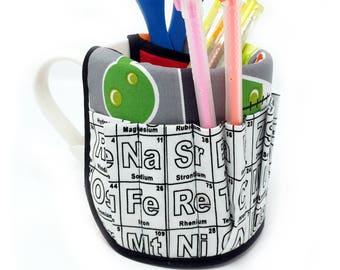 Periodic Table Pencil/Pen Cup