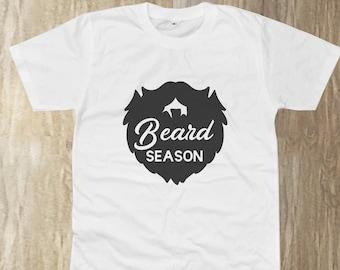 d7192185 Beard Season Shirt, Beard Shirt, Gift for Dad, Funny Tee, Men Shirt, Men  Graphic Tee, Dad Shirt, Husband Tee, Short Sleeve Shirt, Unisex tee