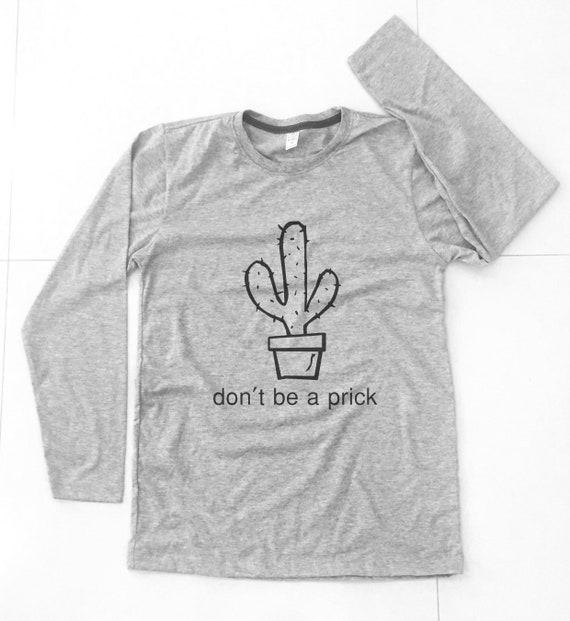 659bb22cd Don't be a prick Shirt cactus tee cactus shirt Vacation | Etsy