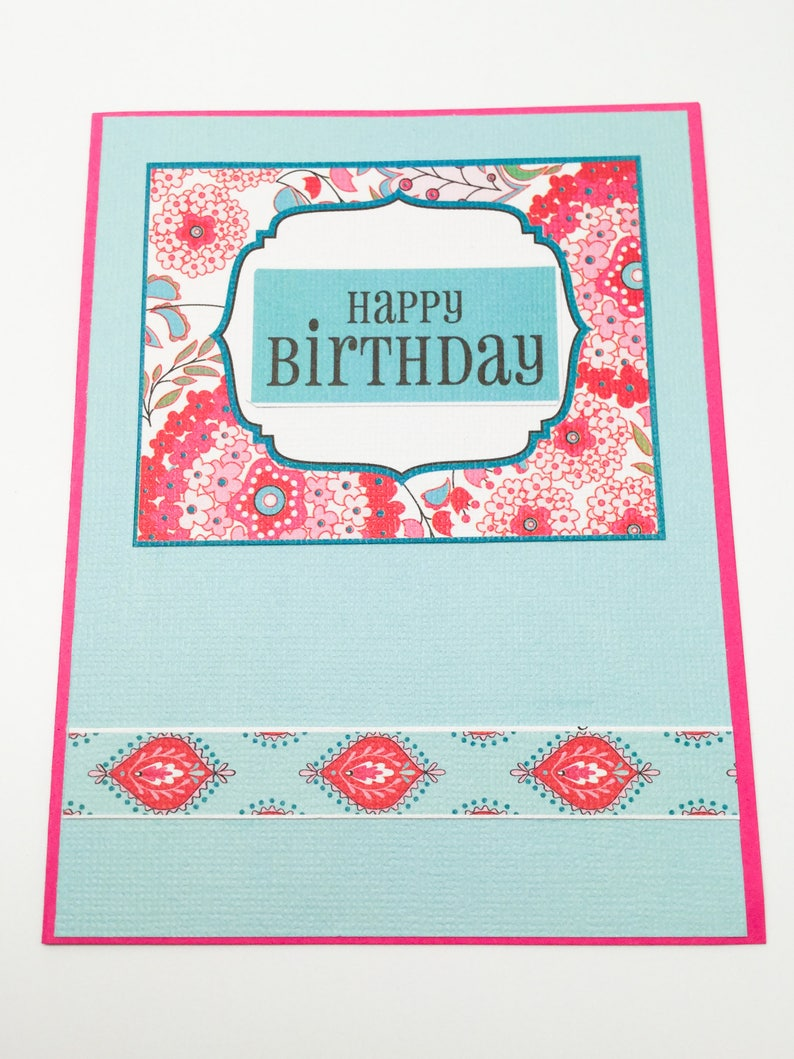 Birthday cards kraft cards Friendship cards pink cards Flock of Geese set of blank cards thinking of you cards blue cards