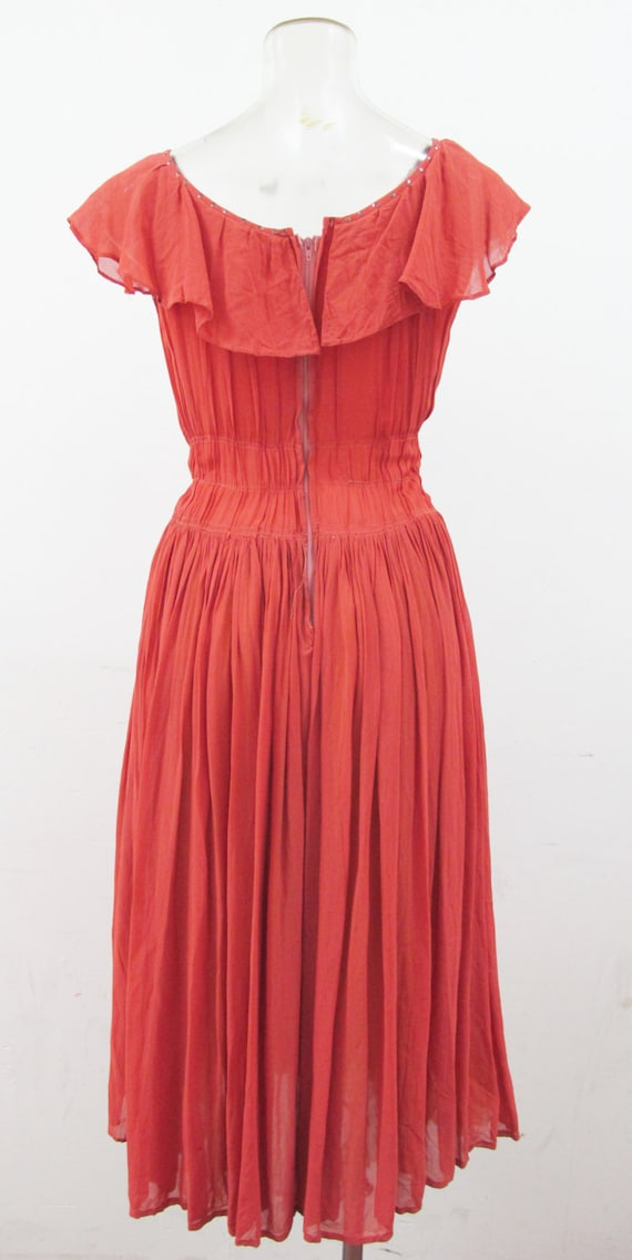 1930s Cy Twombly Sequinned Backless Dress for Fancy Dancing. SALE