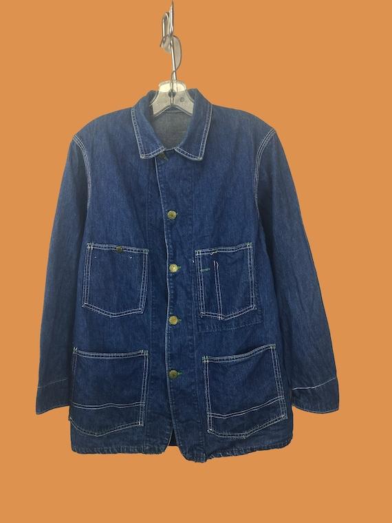 Oshkosh B'Gosh Denim Chore Jacket 1950s
