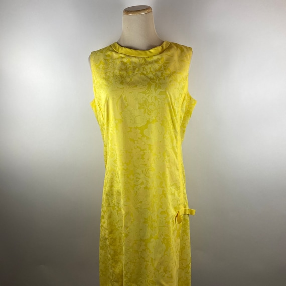 Vintage 1960s The Lilly Pulitzer Yellow Floral Pri