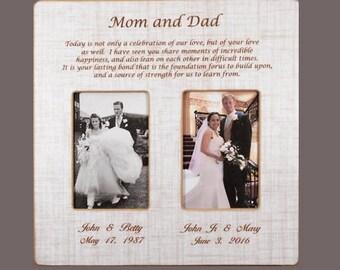 wedding gift parents etsy