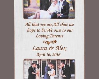 wedding gift parents personalized wedding gift parents bride etsy