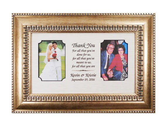 Wedding Gift Mother Personalized Wedding Gift Parents Bride Gift to ...