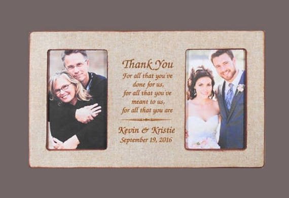 Wedding Gift Parents Personalized Wedding Gift Parents Bride Gift to ...