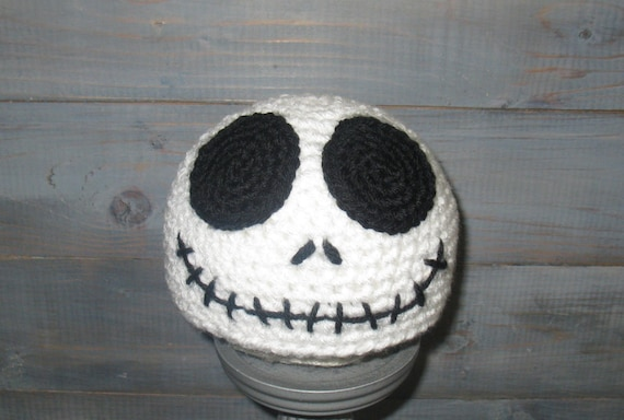 Newborn Jack Skellington Nightmare Before Christmas Crochet Etsy