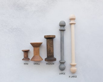 Wood Spool; wedding photography styling; wedding ribbon; unfinished wood spool ; arts and crafts