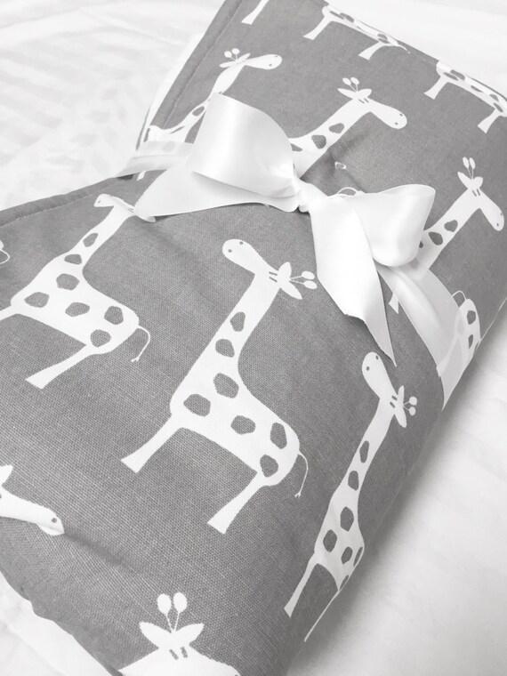 Baby Spiel Matte gepolsterte Spiel Matte graue Giraffe