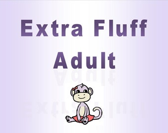Extra Fluffy Skirt - Adult