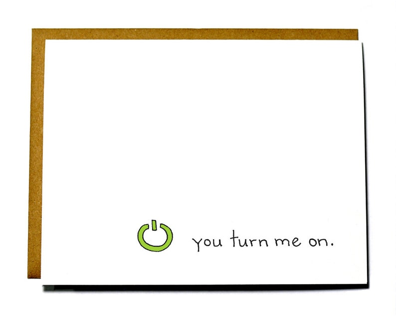 Funny Geeky Valentine's Day card. You turn me on  Xbox I image 0
