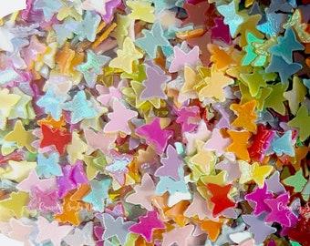 5 grams - 3mm Rainbow Butterfly Glitter, Butterfly Glitter, Glitter, Pink, Purple, Blue, Glitter Confetti, Confetti, Kawaii, Resin Glitter