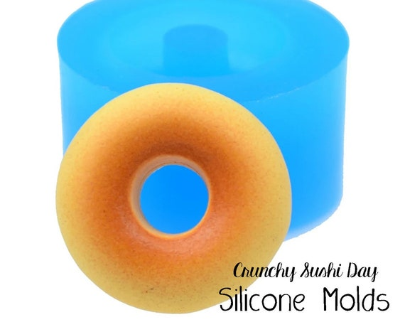 Miniature Donut Mold, Bagel Mold, Resin Mold, Silicone Mold, Epoxy, Polymer Clay Mold, Charm Mold, Kawaii, Resin Mold, Mold, UV Resin Mold