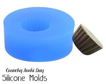 Miniature 11mm Cupcake Mold, Resin Mold, Silicone Mold, Epoxy, Polymer Clay Mold, Charm Mold, Kawaii, Resin Mold, Mold, UV Resin Mold