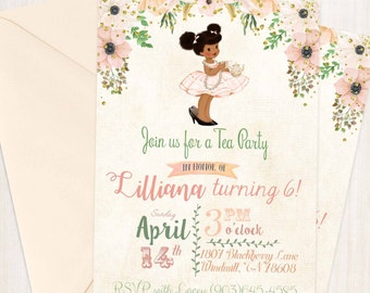Girl Birthday Invitation