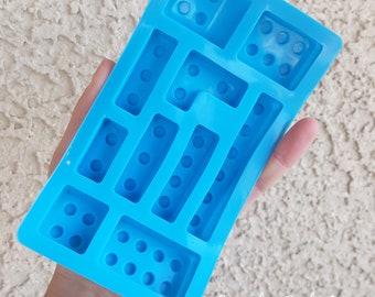 Lego Silicone Mold, Resin Mold, Silicone Mold, Epoxy, Shaker Mold, Charm Mold, Kawaii, Resin Mold, Mold, UV Resin Mold