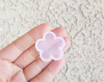 Cute Mini Round Flower Mold, Resin Mold, Silicone Mold, Epoxy, Mold, Charm Mold, Kawaii, Resin Mold, Mold, UV Resin Mold