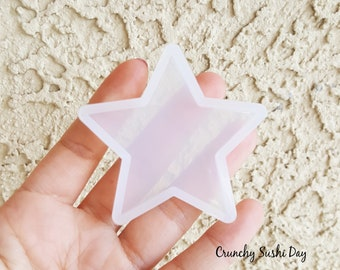 55mm Star Mold, Resin Mold, Silicone Mold, Epoxy, Shaker Mold, Charm Mold, Kawaii, Resin Mold, Mold, UV Resin Mold