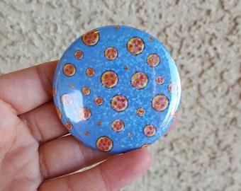 """2.25"""" Dragon Pinback Button, Geek Button, Geekery, Button, Kawaii Button, Badges, Flare, Pin, Fanart, Fandom"""