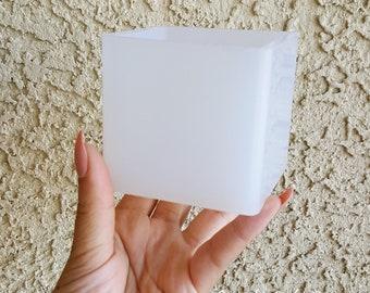 65mm Cube Mold, Circle, Resin Mold, Silicone Mold, Epoxy, Shaker Mold, Charm Mold, Kawaii, Resin Mold, Mold, UV Resin Mold